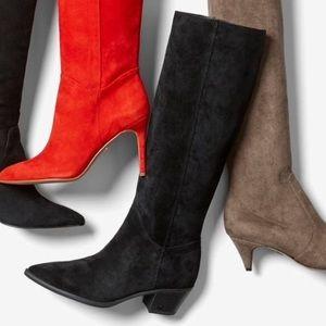 🆕 Sam Edelman x Anthropologie black suede boots